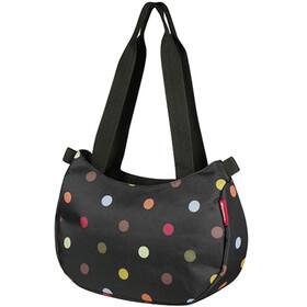 KlickFix Stylebag Fietstas zwart/bont